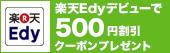 Edy��500�~��N�[�|��!