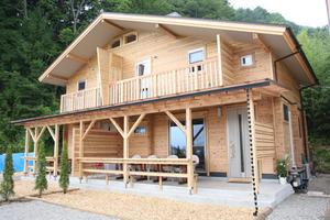 Log Cottage Orange Cabin