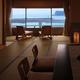 お部屋から海を眺める