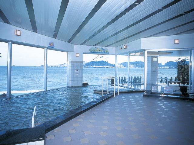 お風呂 | 関門海峡が一望できる宿 満珠荘【公式】