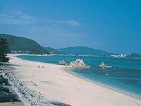 水晶浜海水浴場・写真