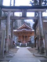 川原湯神社・写真