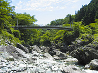 三波石峡(群馬県)・写真