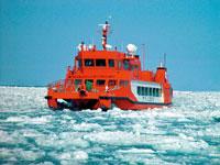 流氷砕氷船ガリンコ号II