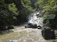 カムイワッカ湯の滝・写真