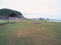 親子岩ふれ愛ビーチキャンプ場・写真