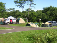 釧路市山花公園オートキャンプ場・写真