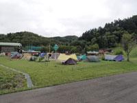 西興部森林公園キャンプ場・写真