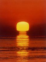 四角い太陽・写真