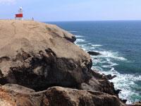 落石岬灯台・写真