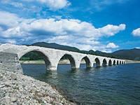 タウシュベツ川橋梁・写真