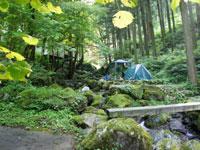 白岩渓流園キャンプ場・写真