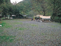 入川渓谷夕暮キャンプ場・写真