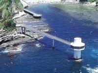 かつうら海中公園・海中展望塔・写真