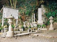 八遺臣の墓・写真