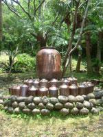 島酒の碑・写真