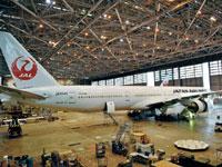 JAL工場見学 SKY MUSEUM・写真