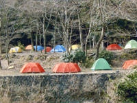 滝沢園キャンプ場・写真