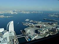 横浜ランドマークタワー69階展望フロア スカイガーデン・写真