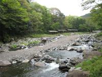 狩川渓谷ます釣り場・写真