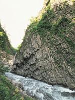 清津峡・写真