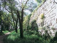 村上城跡・写真