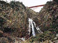 大ザレの滝・写真