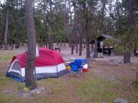 園家山キャンプ場・写真
