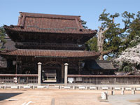 善徳寺前・石畳の道・写真