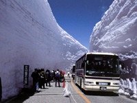 雪の大谷・写真
