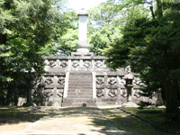 前田利長墓所・写真