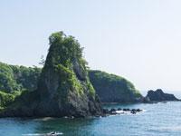 鷹の巣岩・写真