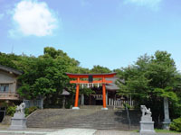 新田義貞公之大宮 藤島神社・写真