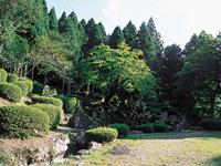 諏訪館跡庭園・写真