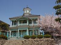 富士川町民俗資料館(旧舂米学校々舎)・写真