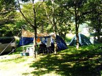 西湖キャンプ場テント村(西湖テント村)・写真