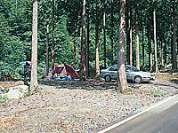 福士川渓谷青少年旅行村奥山キャンプ場・写真