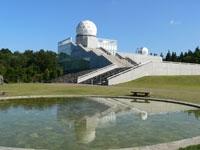 富士吉田市立富士山レーダードーム館・写真