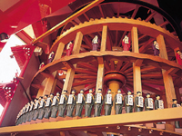 諏訪湖時の科学館儀象堂・写真