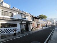 松本の町並み