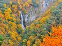 澗満滝展望台・写真