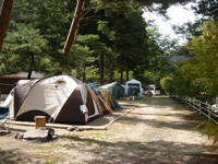 池の島キャンプ場・写真