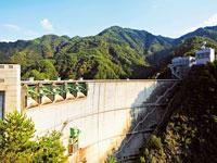 小渋湖(小渋ダム)・写真