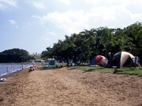 小川原湖公園キャンプ場・写真