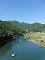 長良川ラフティング・シャワークライミング・写真
