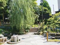 栗屋公園の自噴水・写真