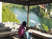 恵那峡 天界苑・写真