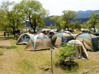 くのわき親水公園キャンプ場