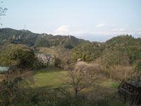 蒲原城跡・写真