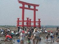 弁天島海浜公園潮干狩り場・写真